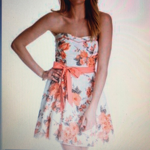 973411689153 Speechless Dresses | Juniors Printed Strapless Dress | Poshmark
